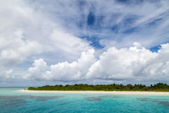 A small beautiful island Royalty Free Stock Images