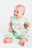 Small beautiful smiling girl Royalty Free Stock Photos