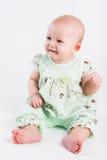 Small beautiful smiling girl Royalty Free Stock Photos