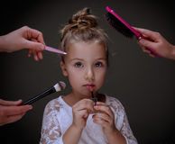 Small beauty care Royalty Free Stock Images