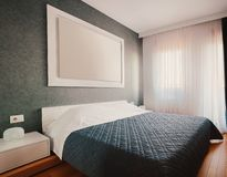 Small Bedroom Interior stock images
