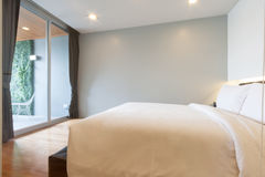 Small bedroom Royalty Free Stock Photo