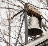 Small bell in the woods Royalty Free Stock Photography