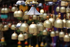 Small bells mobile for nice garden or house Stock Images