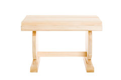 Small bench wood Royalty Free Stock Image