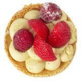 Small berries tart Stock Photography