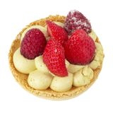 Small berries tart Royalty Free Stock Images