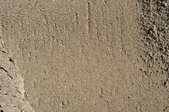 Small and big sand, gravel and pebbles background pattern Royalty Free Stock Photography