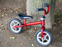 Small bike for little children Stock Photography