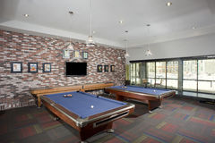 Small Billiards room Royalty Free Stock Image