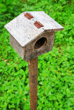 Small bird house Royalty Free Stock Image