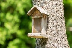 Small Bird House Stock Photo