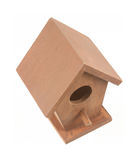 Small birdhouse Stock Photo