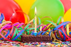 Small Birthday Cake Stock Image