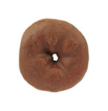 Small bite sized chocolate donut Stock Image
