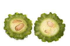 Small Bitter Gourd stock images