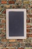 Small black chalkboard Royalty Free Stock Photography