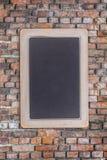 Small black chalkboard Stock Photos