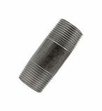 Small black threaded pipe Royalty Free Stock Image
