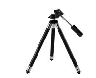 Small black tripod Stock Images