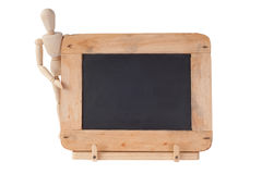 Small Blackboard with Frame Royalty Free Stock Photos