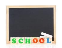 Small blackboard Stock Photography