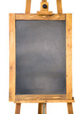 Small blackboard with wooden frame Royalty Free Stock Images