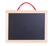Small blackboard with wooden frame Royalty Free Stock Photo