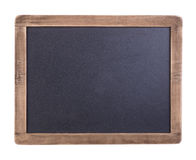 Small blackboard with wooden frame Stock Image