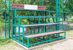 Small bleachers Royalty Free Stock Image