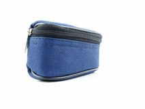 Small blue bag. Royalty Free Stock Images