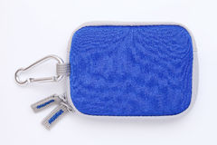 Small blue bag Royalty Free Stock Photo