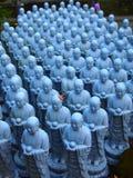 Small Blue Buddha Statues 2 Royalty Free Stock Photo