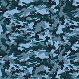 Small Blue Camouflage Stock Image