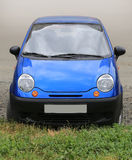 Small blue car Royalty Free Stock Photo