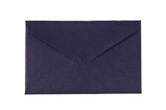 A small blue envelope Royalty Free Stock Photography