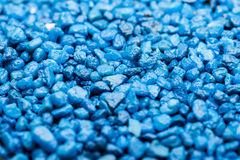 Small Blue Rocks Royalty Free Stock Photo