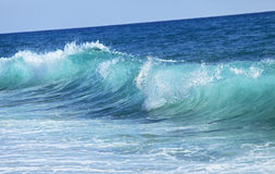 Small blue sea wave. Nature background. Small blue sea wave. Landscape Royalty Free Stock Photography