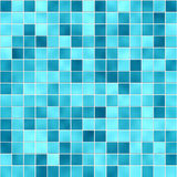 Small blue tiles texture Stock Images