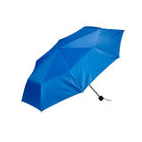 A small blue umbrella Stock Images