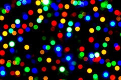 Small blurred lights Royalty Free Stock Image