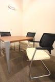 Small boardroom stock image