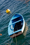 Small boat. Small fishing boat on adriatic sea Stock Images