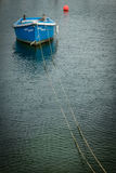 Small boat in Penzance harbour Stock Photos