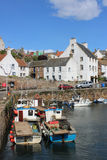 Small boats Crail Harbour, Crail, Fife, Scotland Royalty Free Stock Image