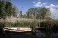 Small boats at Lake Balaton Stock Photography