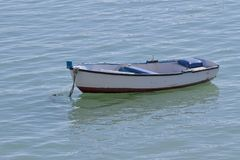 Small boats in the sea Royalty Free Stock Photos