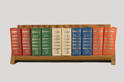 Small book rack Royalty Free Stock Images