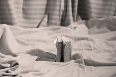 Small book. On a white background Royalty Free Stock Photo