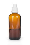Small bottle with drug Royalty Free Stock Photos